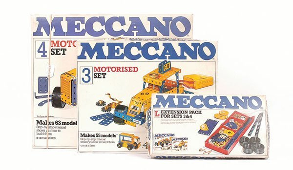 5023: Meccano - 3 x Late 1970s Sets