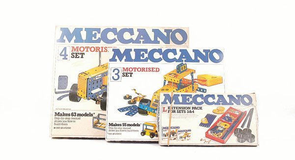 5024: Meccano - 3 x Late 1970s Sets