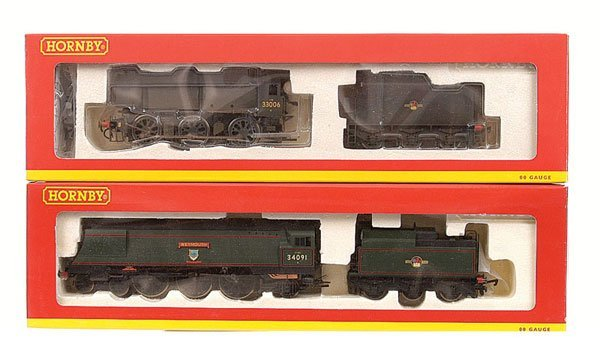 4003: Hornby - A Pair of BR Steam Locos