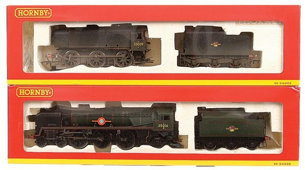 4005: Hornby - A Pair of BR Steam Locos