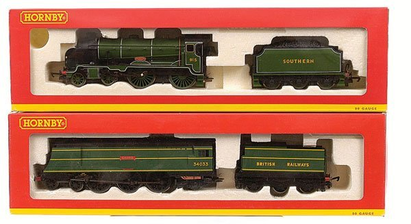 4017: Hornby - 2 x TMC Southern Steam Locos