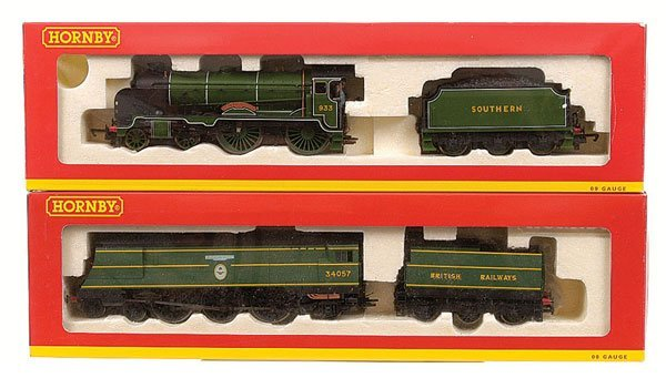 4018: Hornby - 2 x TMC Southern Steam Locos