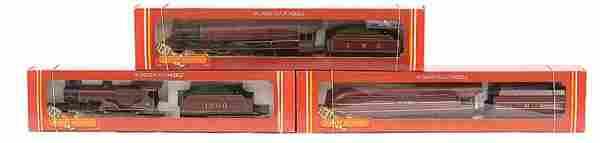 4132: Hornby Railways - 3 x LMS Maroon Steam Locos