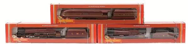 4133: Hornby Railways - 3 x LMS Maroon Steam Locos