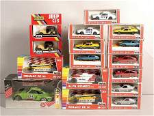 4861 Polistil  A Group of 143rd scale Models