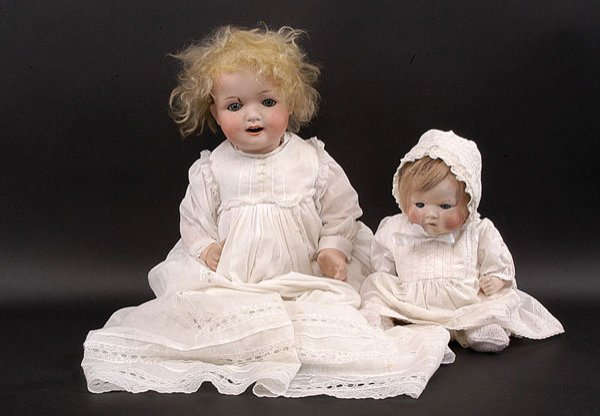 1: Ernst Heubach Bisque Character Baby Doll