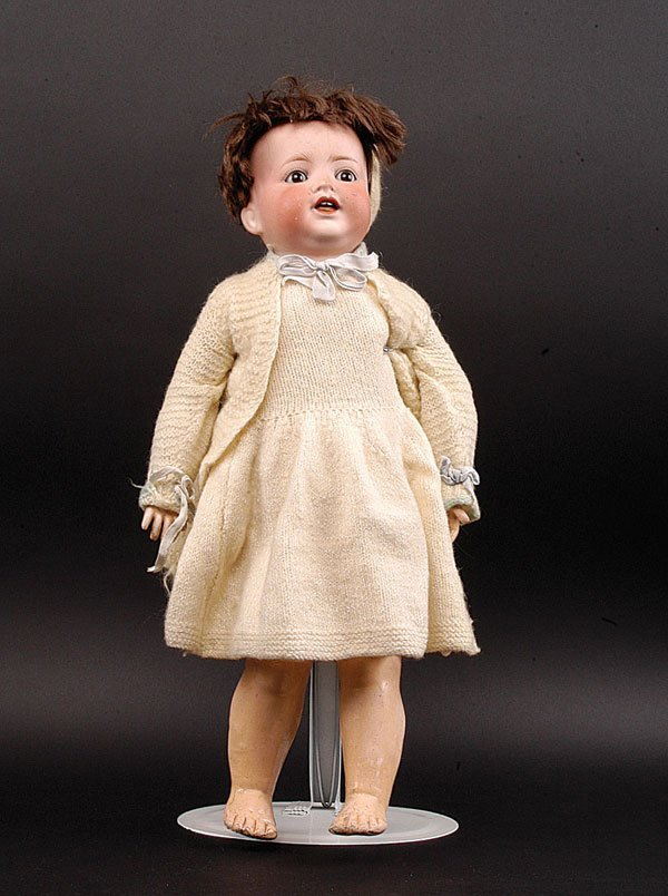 7: Ernst Heubach Bisque Character Baby Doll