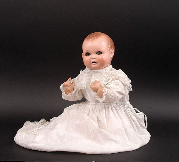 8: German Composition Baby Doll, c.1920
