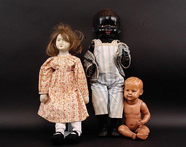 "10: Pedigree ""Dixie"" Delite Negro Doll, British"