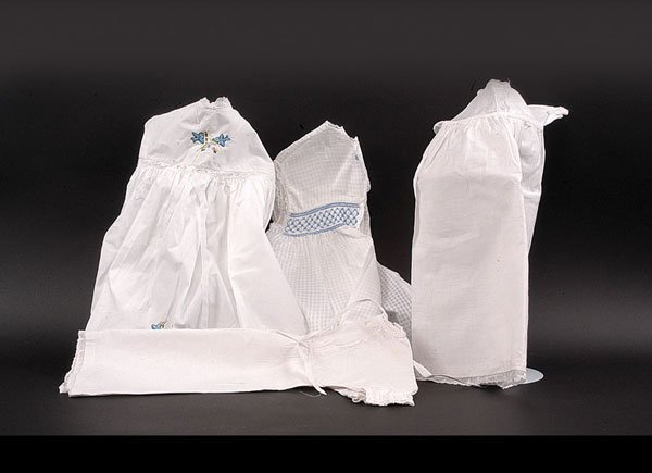 12: Collection Cotton Whitework Baby/Doll Clothing