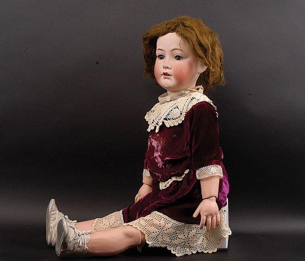 """13: """"Natalie"""", Cuno & Otto Dressel Bisque Child Doll"""