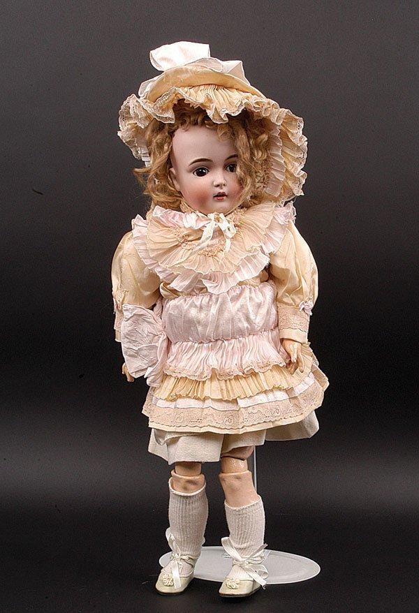 14: J D Kestner jr Bisque Child Doll