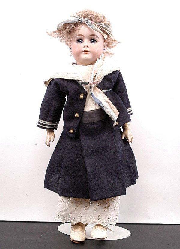 16: Jumeau DEP Bisque Doll possibly Simon & Halbig