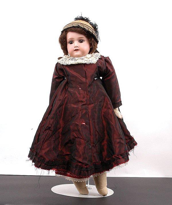 21: Armand Marseille Bisque Shoulder Doll