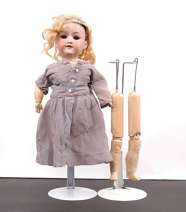 24: Armand Marseille Bisque Doll