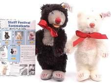 341: Steiff Festival 2000 Teddy Baby Bear Set