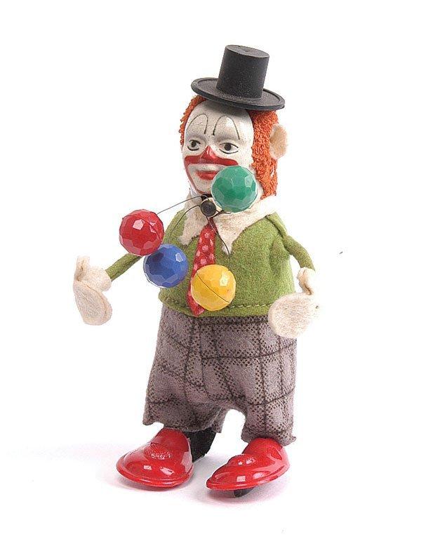 1001: Schuco - 965 - Clockwork Clown Juggler