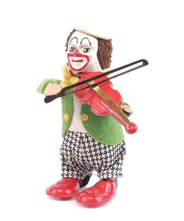 1006: Schuco - 986/2 - Clockwork Clown Violinist