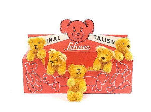 1130: Schuco - Rare Trade Box of Talisman Bears