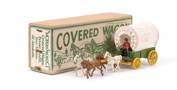 2001: Morestone Horsedrawn Covered Wagon