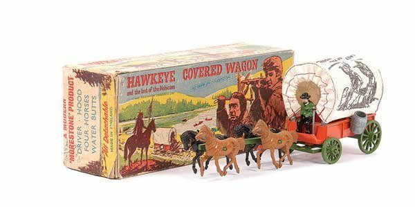 "2003: Morestone ""Hawkeye"" Horsedrawn Covered Wagon"