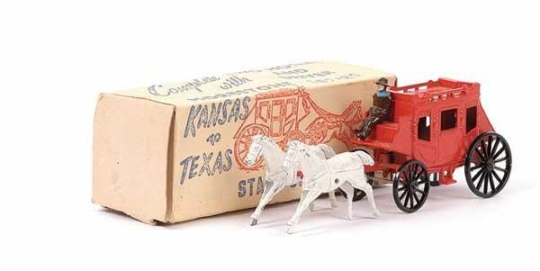 2008: Morestone Kansas to Texas Horsedrawn Stage Coach