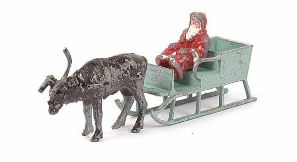 2016: Morestone Santa with Reindeer & Sleigh