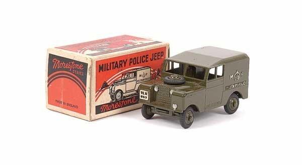 2037: Morestone Military Police Land Rover
