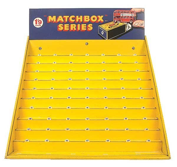 2481: Matchbox Counter Display Stand