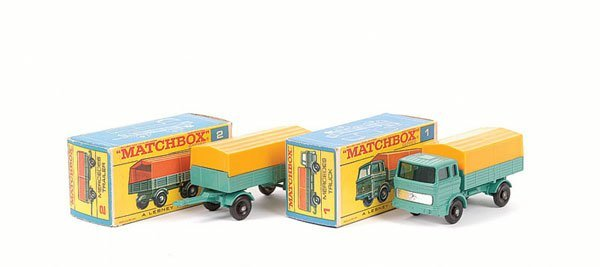 3001: Matchbox No.1e Mercedes LP Covered Truck