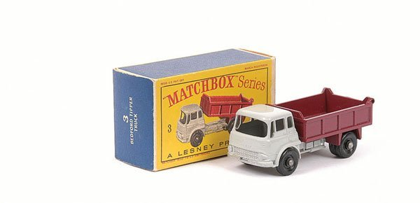 3004: Matchbox No.3b Bedford TK Tipper