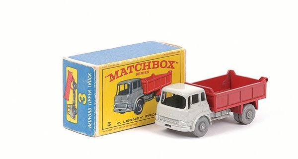 3005: Matchbox No.3b Bedford TK Tipper