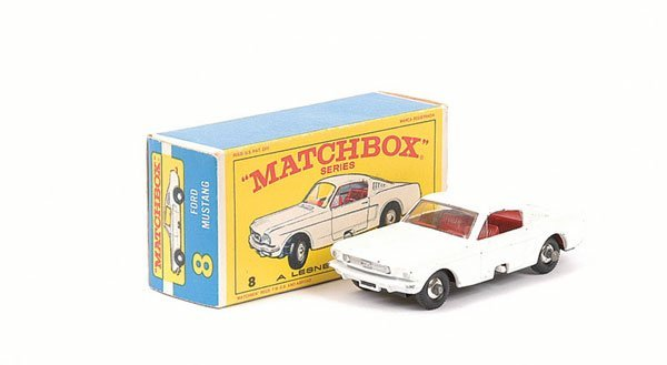 3007: Matchbox No.8e Ford Mustang