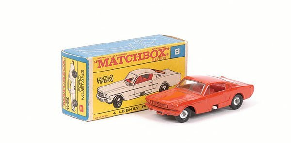 3009: Matchbox No.8e Ford Mustang