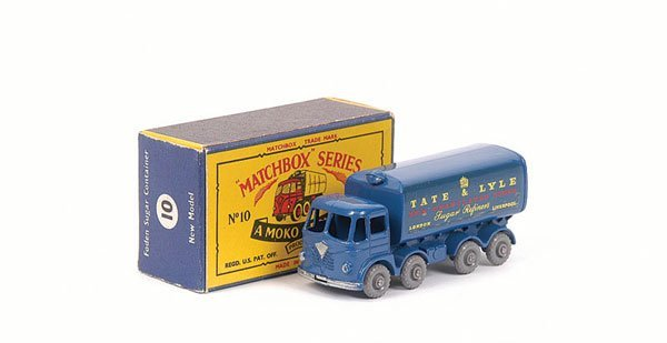 3010: Matchbox No.10c Foden Sugar Container Truck