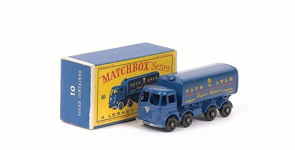 3012: Matchbox No.10c Foden Sugar Container Truck