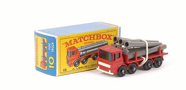 3013: Matchbox No.10d Leyland Pipe Truck