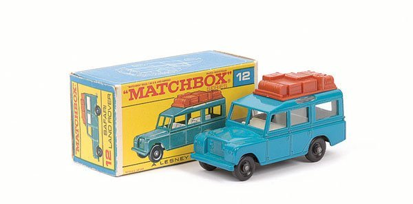 3014: Matchbox No.12c Land Rover Safari