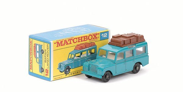 3015: Matchbox No.12c Land Rover Safari