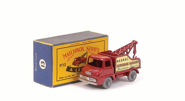 3016: Matchbox No.13c Ford Thames Trader Wreck Truck