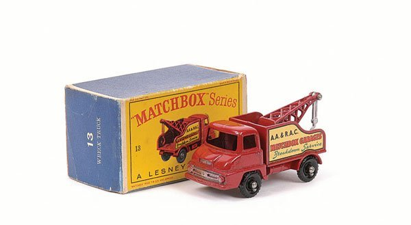 3017: Matchbox No.13c Ford Thames Trader Wreck Truck