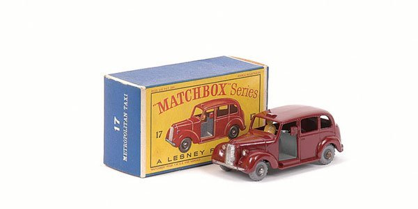 3023: Matchbox No.17c Austin Taxi