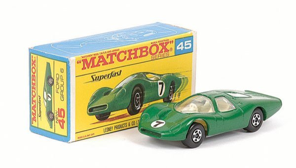 3422: Matchbox Superfast No.45 Ford Group 6