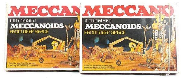4001: Meccano Motorised Meccanoids Sets