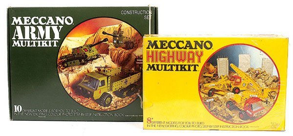 4004: Meccano 1970s Highway Multikit