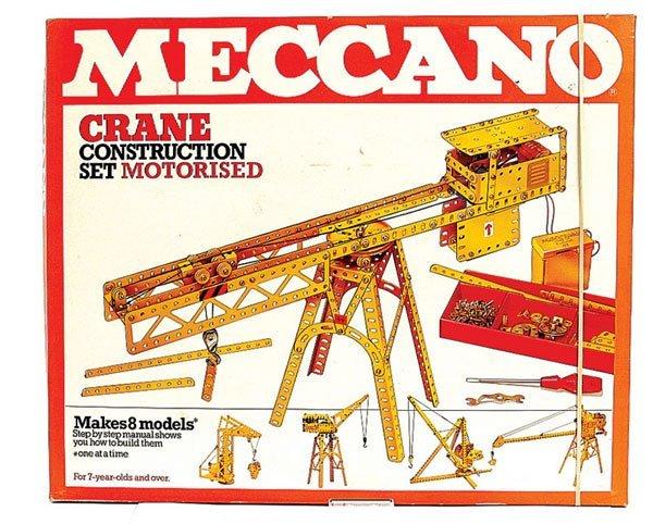4005: Meccano Late 1970s Crane Construction Set