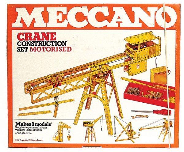 4006: Meccano Late 1970s Crane Construction Set