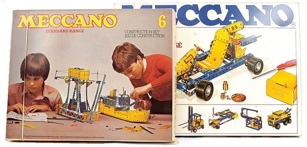 4007: Meccano Late 1970s Outfit No.6