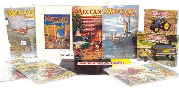 4010: Meccano - A Quantity of Catalogues