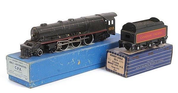 4101: Hornby Dublo 3-rail EDL2 4-6-2 CPR Loco No.1215